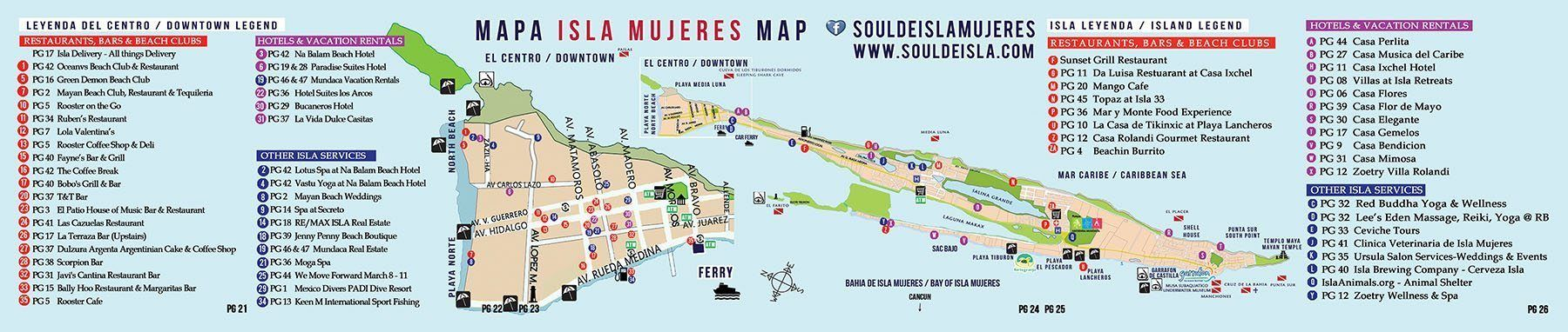 LOCATION Isla Mujeres Rentals Casa Elegante