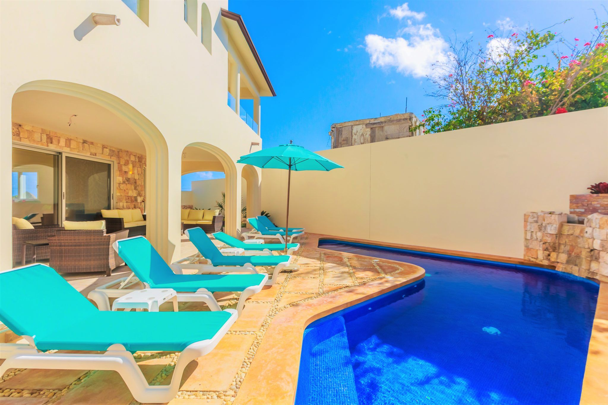 Isla Mujeres Vacation Rental Private Terrace and Heated Pool Casa Elegante
