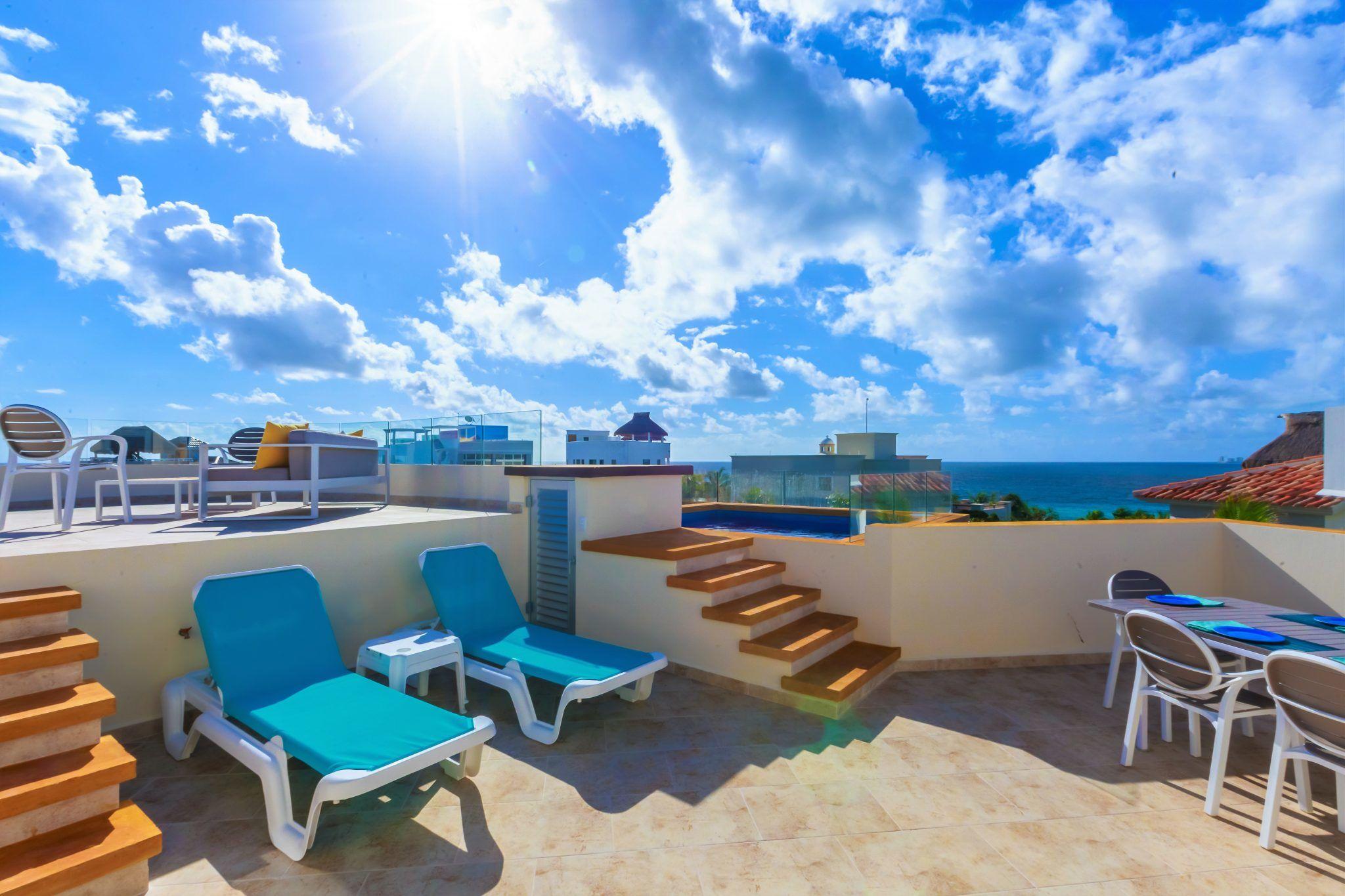 Isla Mujeres Vacation Rental Casa Elegante Ocean View