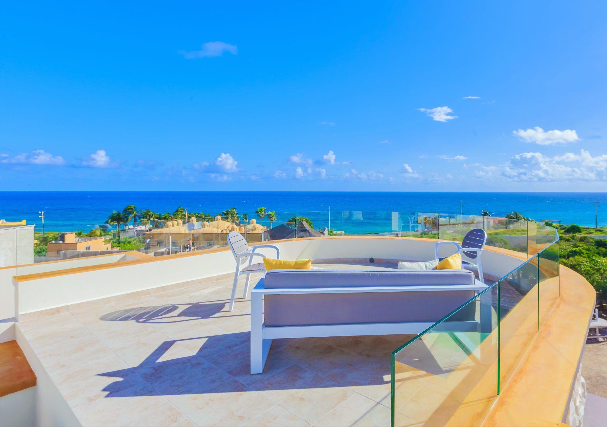 Isla Mujeres Vacation Rental Casa Elegante Ocean View Caribbean