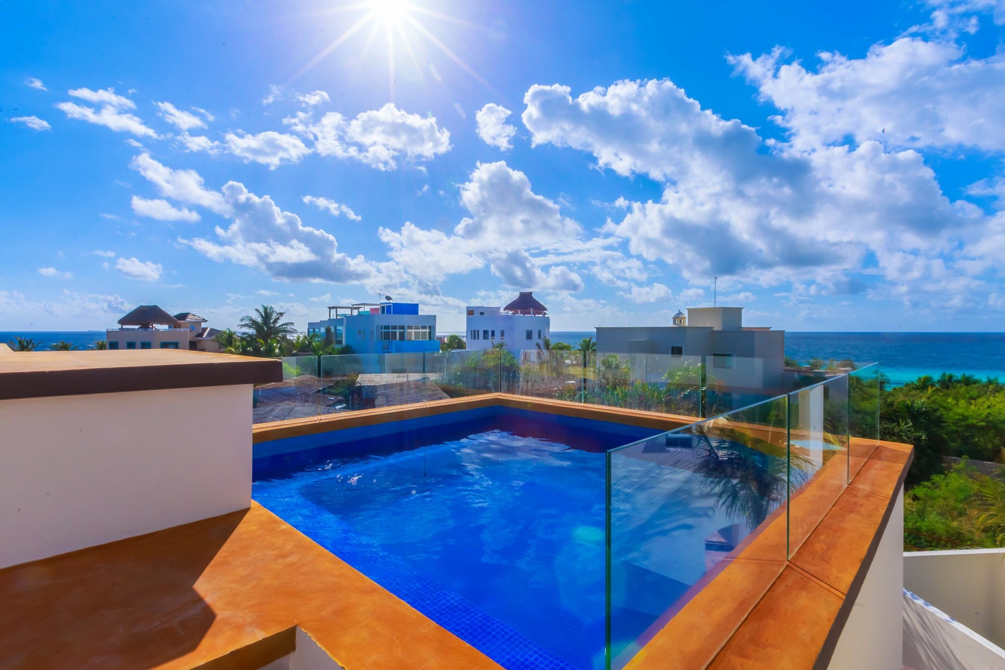 Isla Mujeres Vacation Rental Heated Pool Casa Elegante